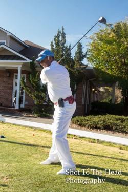 Fred Bazemore at ESR's 2015 Golf Tournament